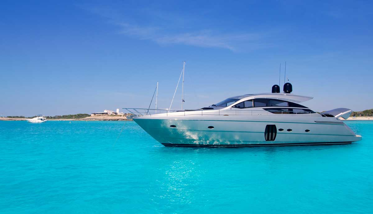 Rent Megayachts Ibiza